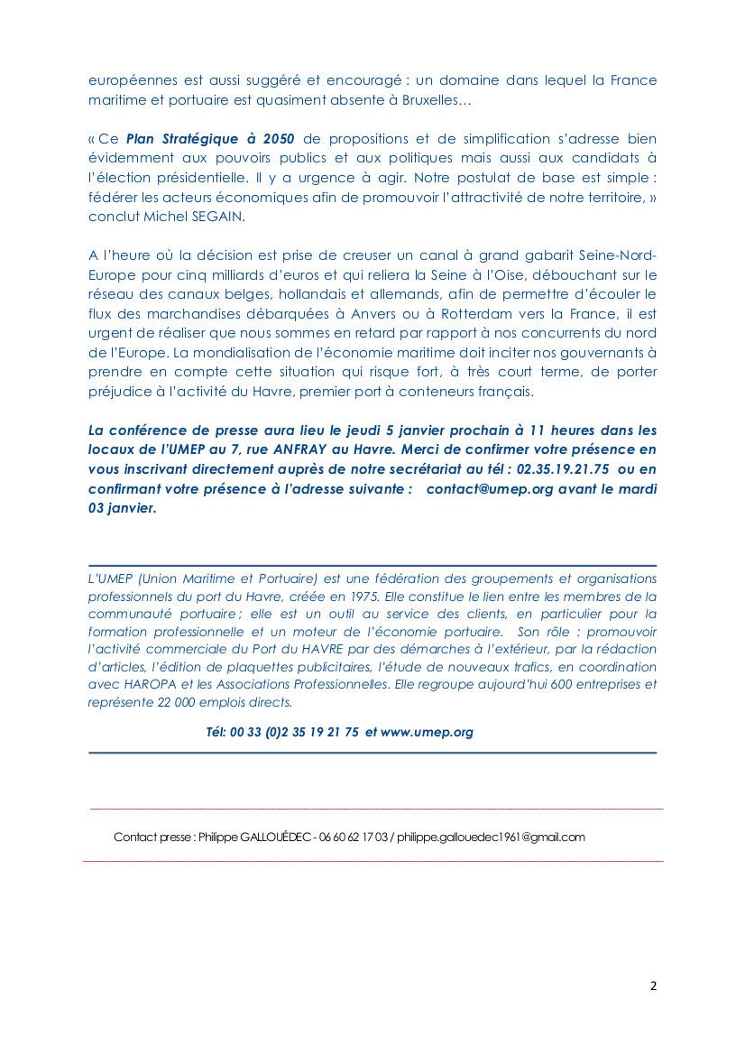 COMMUNIQUE DE PRESSE UMEP FCPAS 20.12.2016 (2)
